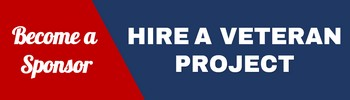 Hire a Veteran Project - Become a Sponsor